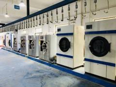 哈尔滨转让倾斜式二手水洗机二手澜美折叠机二手干洗机