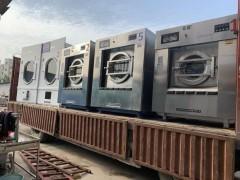 哈尔滨出售5辊百强烫平机二手百强折叠机二手水洗设备