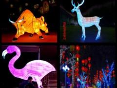 周口吉致节庆装饰亮化灯光秀造型灯定制厂家