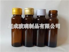 超成螺旋口口服液瓶 棕色口服液瓶 玻璃制品定制